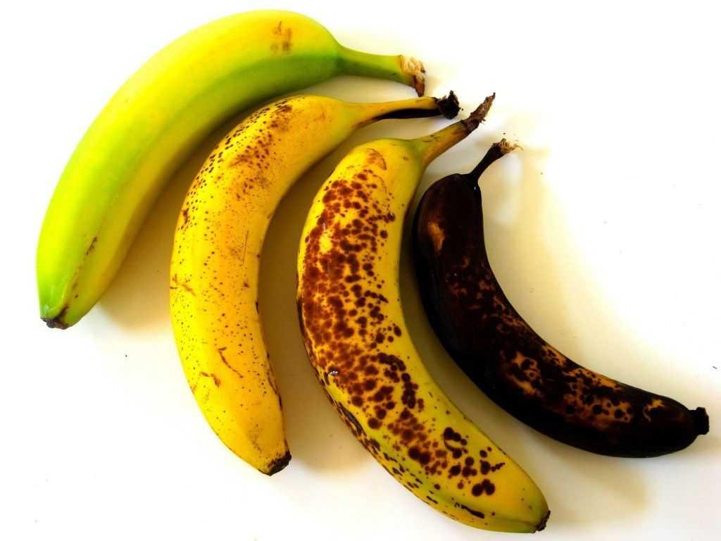 стадии спелости банана