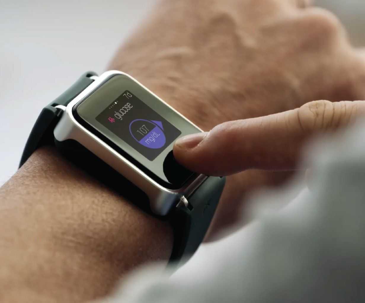 Часы Glucowatch
