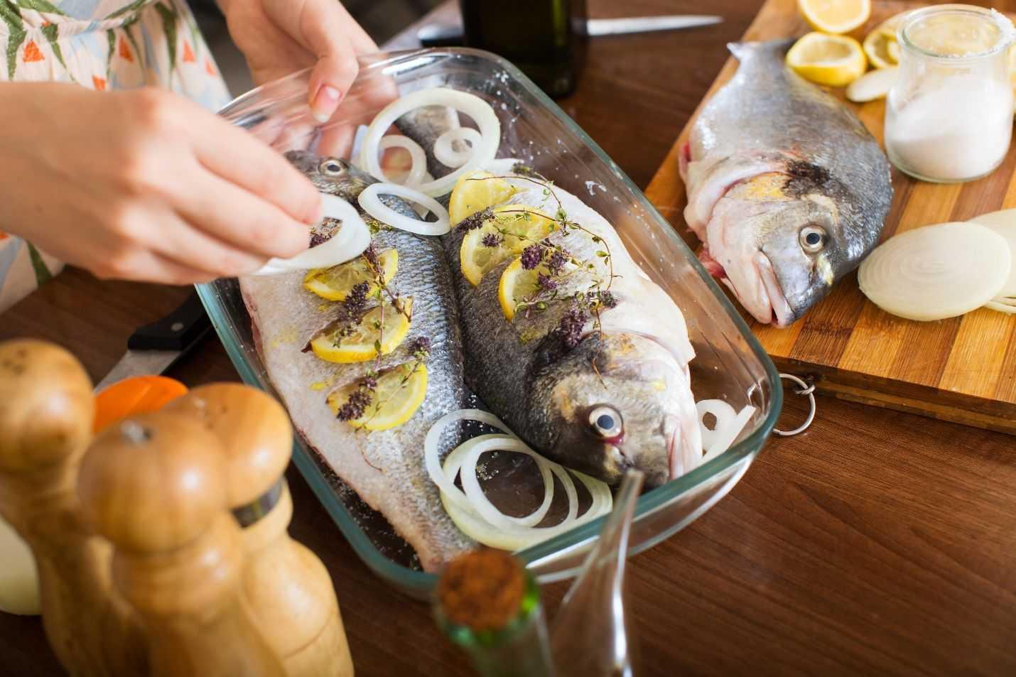 запеченая рыба