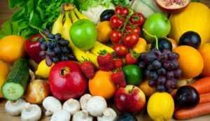 Фрукты, ягоды и овощи с наименьшим содержанием сахара