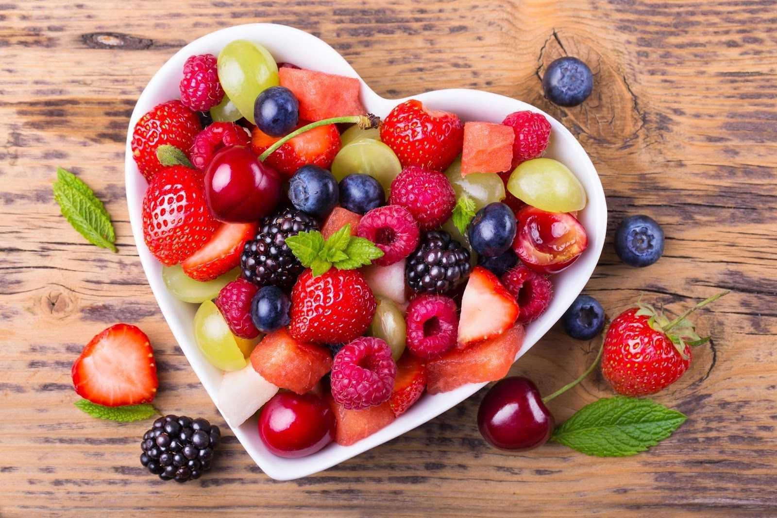 Фрукты и ягоды с низким гликемическим индексом
