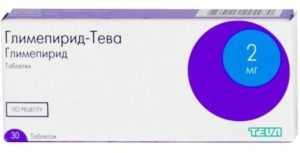 Глимепирид Тева
