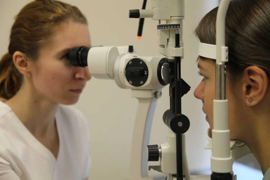 Исследование органов зрения