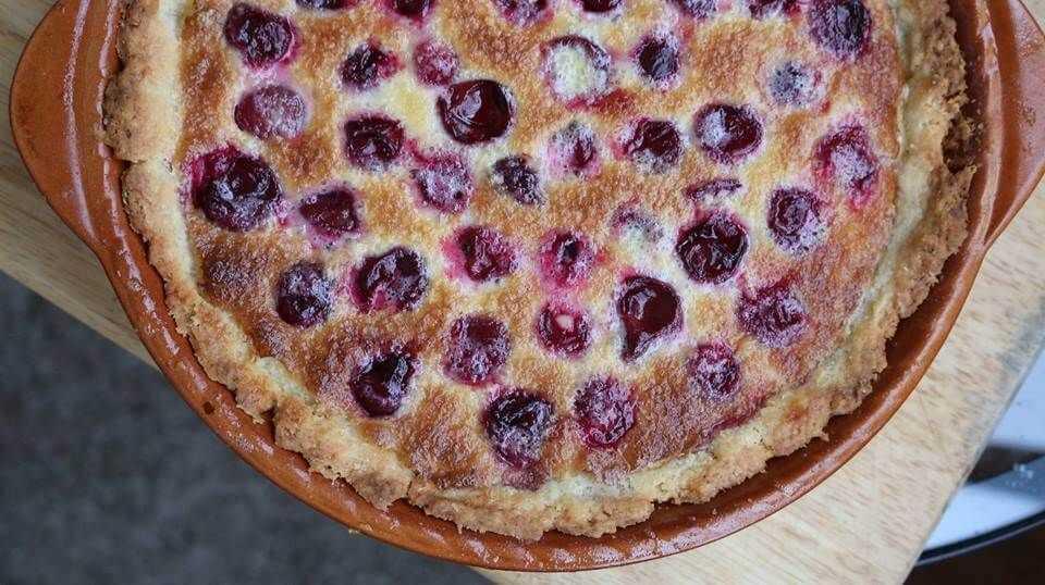 Вишневый пирог для диабетиков