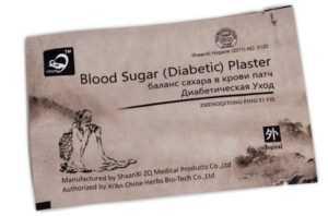 Обзор китайских пластырей от диабета