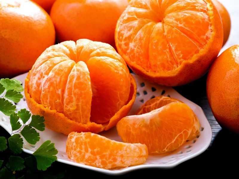 Целебные рецепты с мандаринами