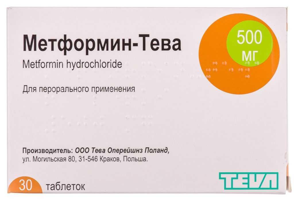 Метформин и Метформин Тева