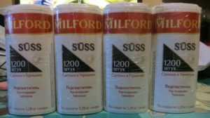 Милфорд - обзор подстастителя, сахарозаменитеся