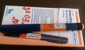 Новорапид инсулин - флекспен и пенфил