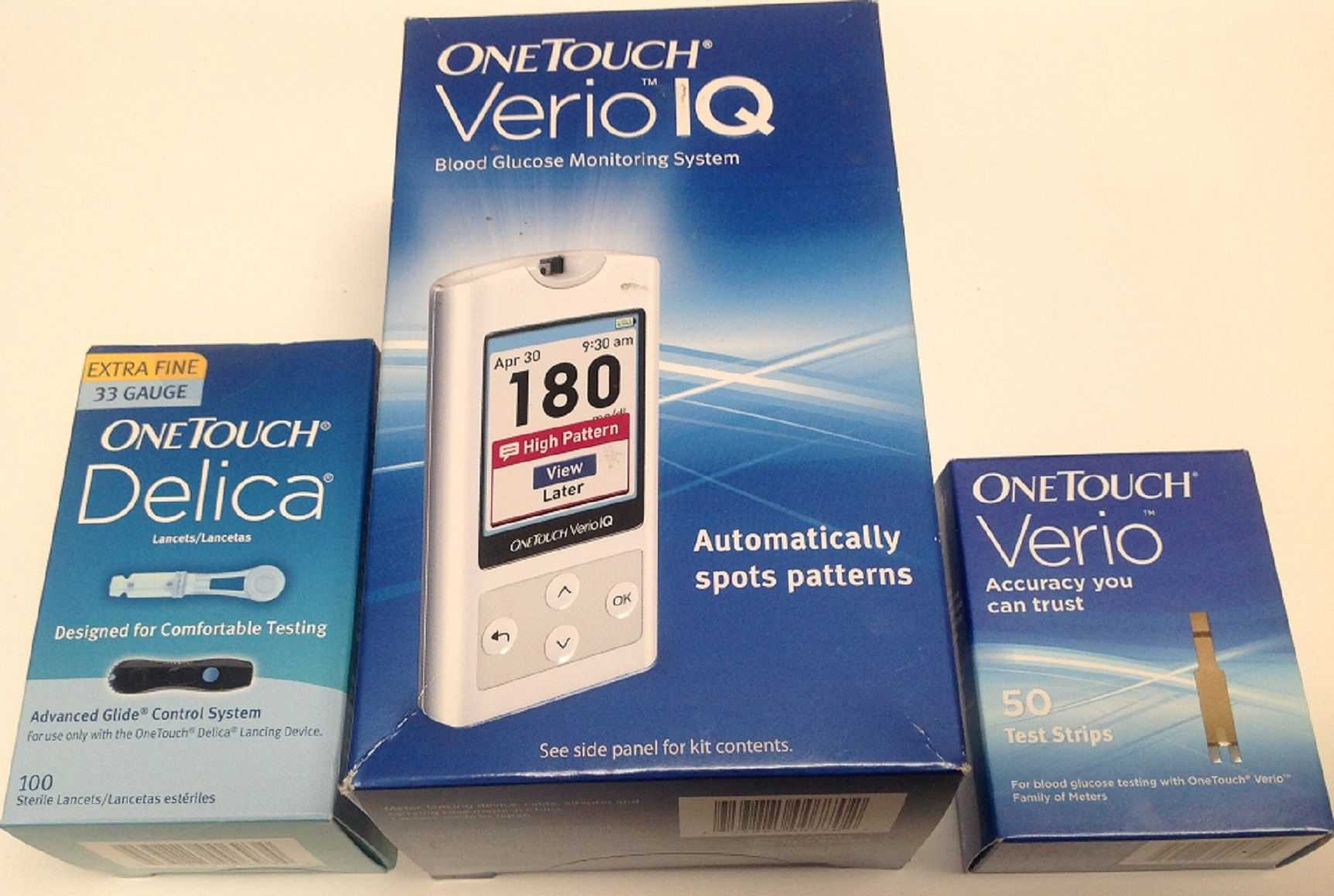 ONE TOUCH VERIO IQ