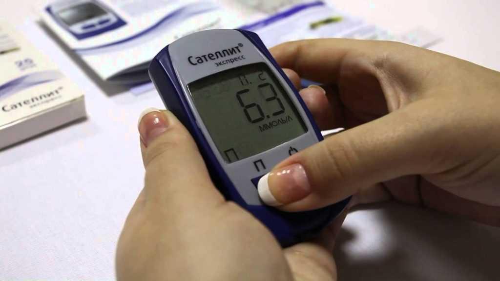 Определение уровня глюкозы в крови
