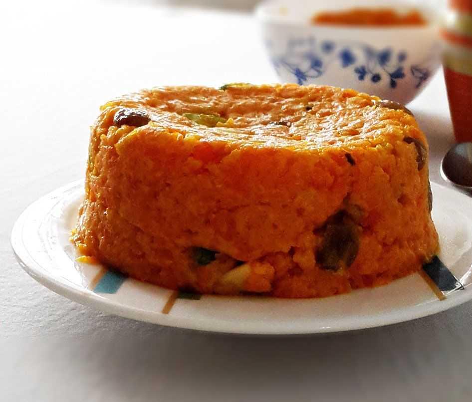 Пудинг из моркови