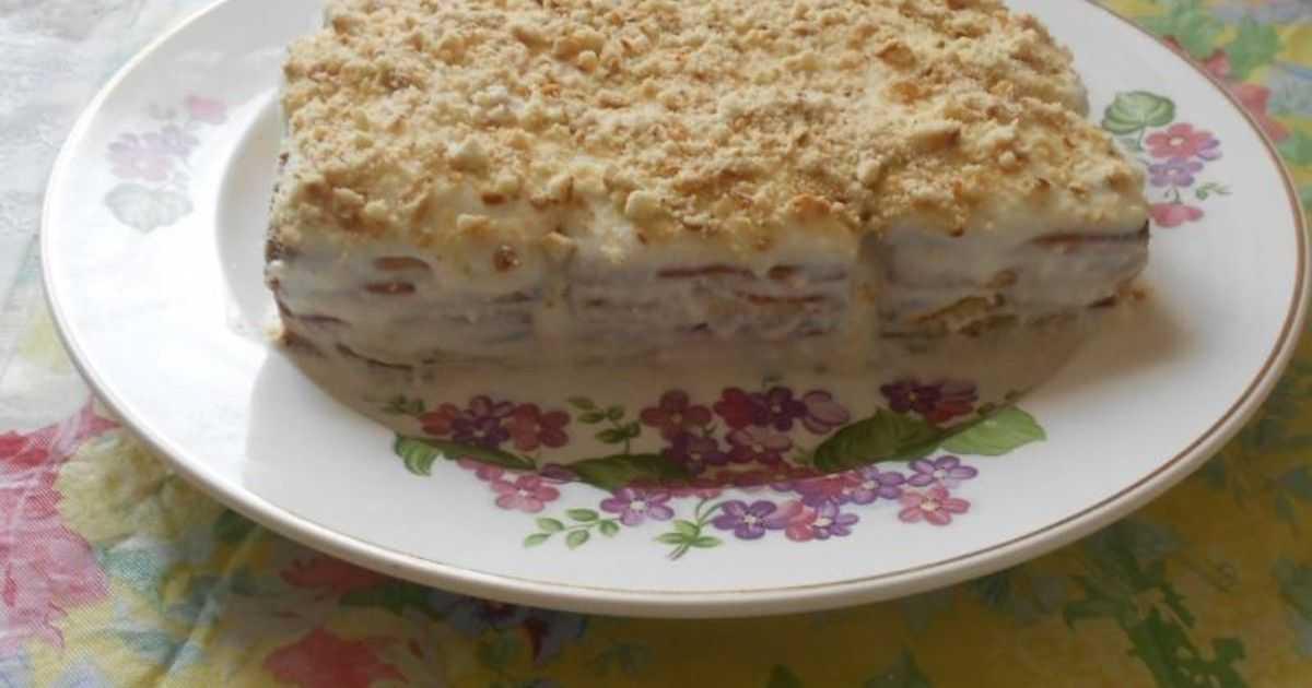 Рецепт быстрого торта для диабетиков