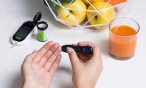 Сахар в крови 8-8,9 ммоль/л