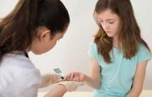 Сахарный диабет у подростков