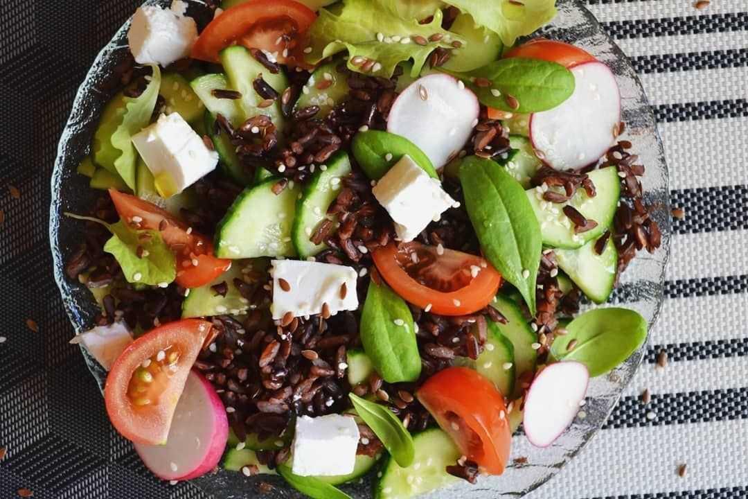 Салат из дикого сорта