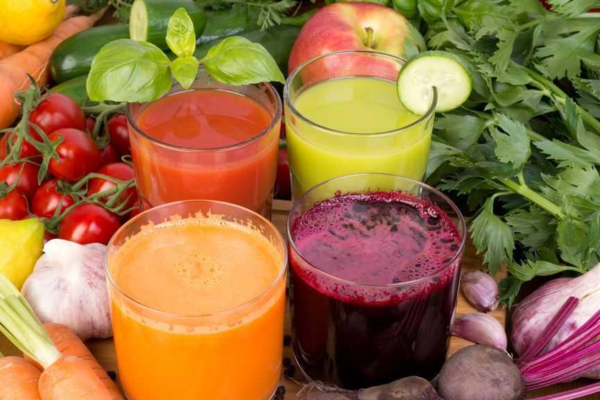 Витаминная польза соков