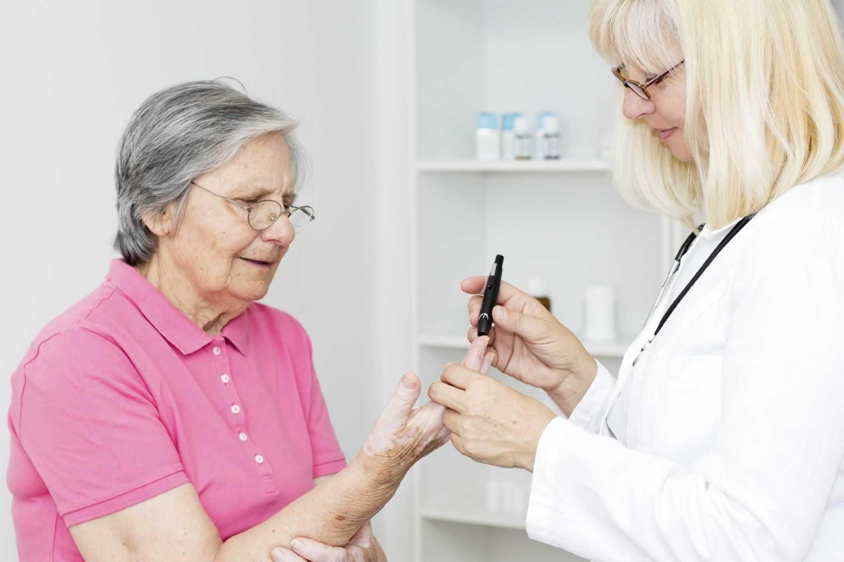 диабет пожилых