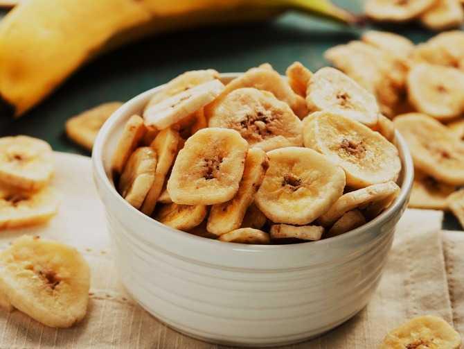 Гликемический индекс сушеных бананов