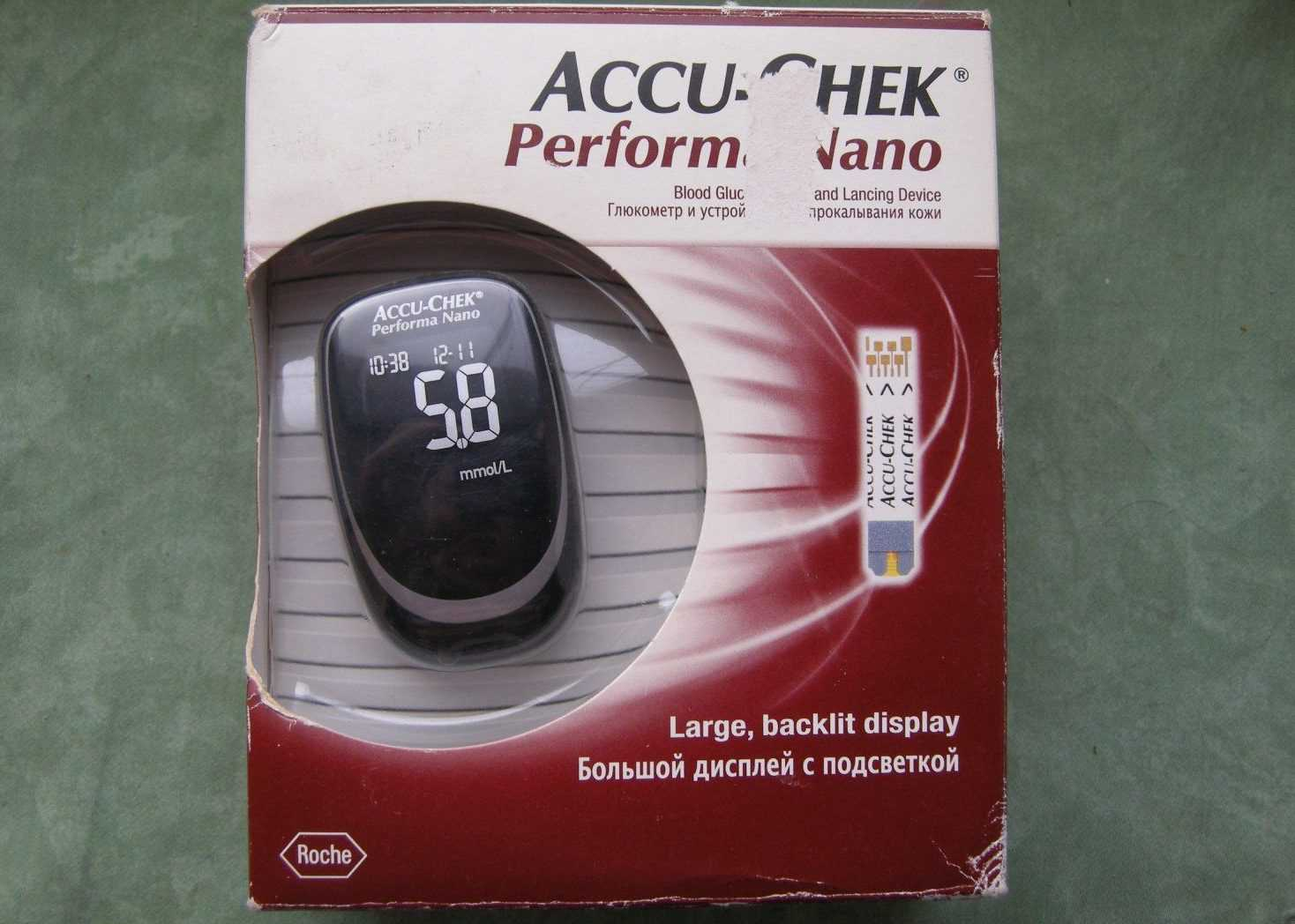глюкометр Акку-Чер перформа нано