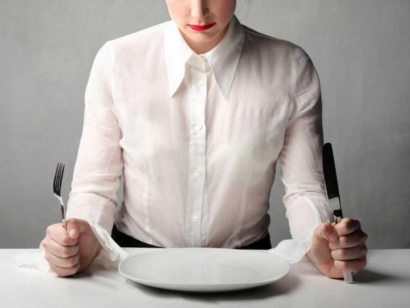 Неправильное питание, голодание