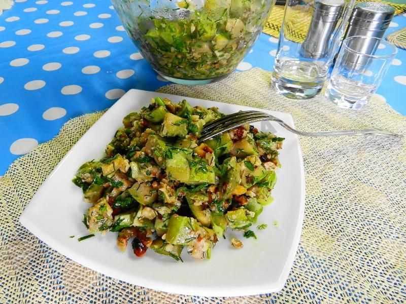 Рецепт с морской капустой