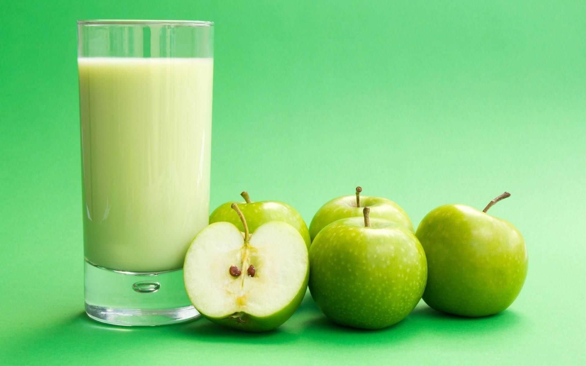 кефирно-яблочный смузи