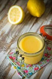 лимон с яйцом