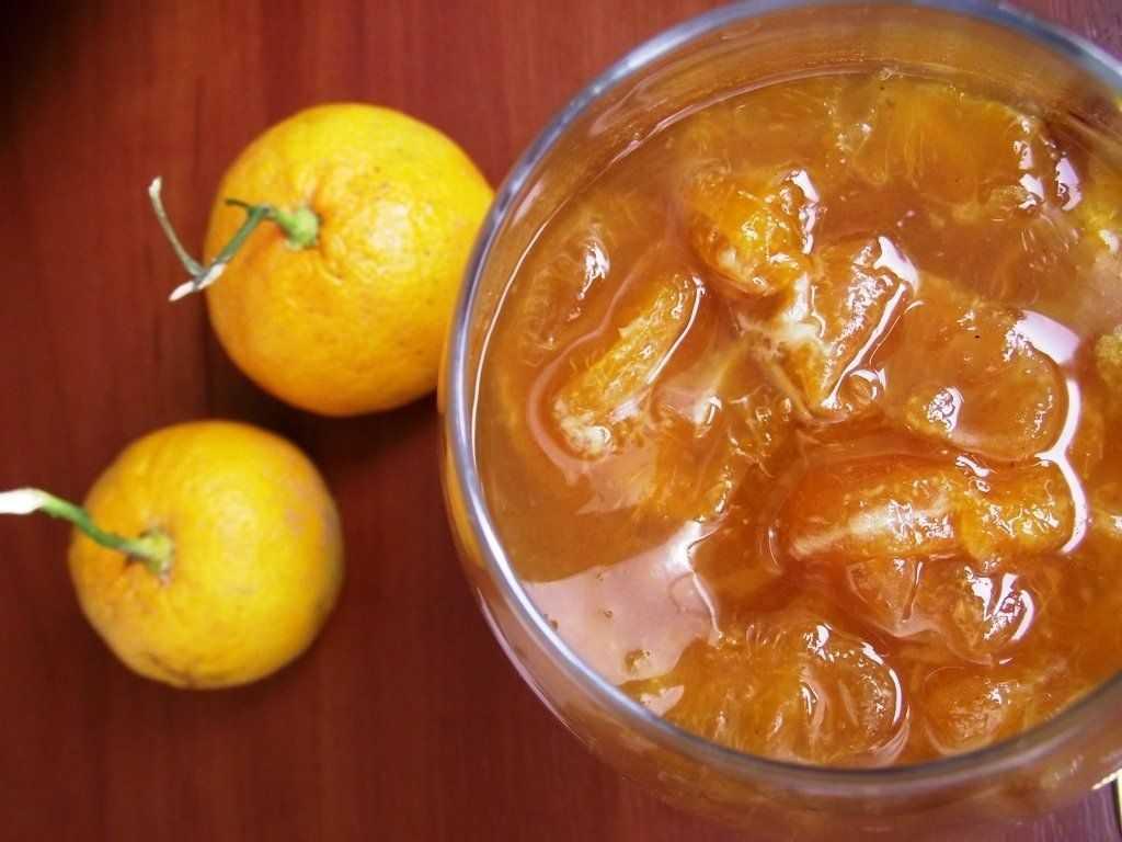 Рецепт мандаринового варенья на основе фруктозы
