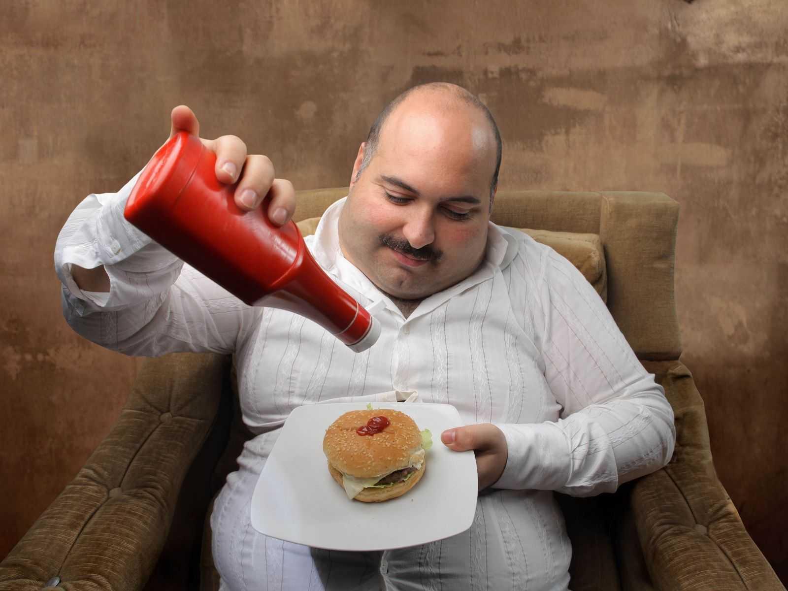 переедание