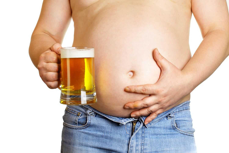 пиво и вес