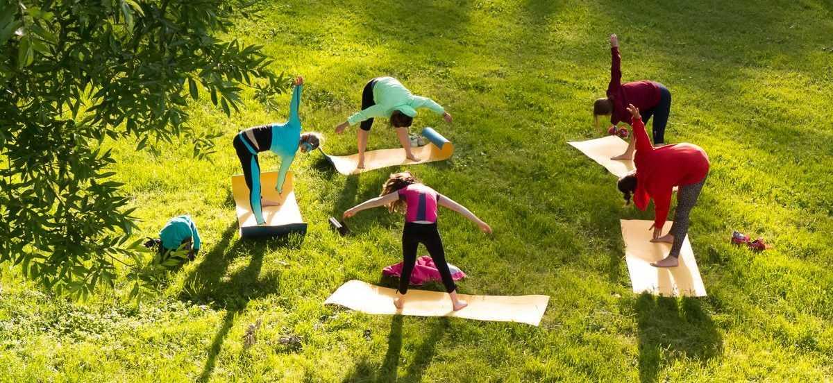 регулярные занятия на свежем воздухе