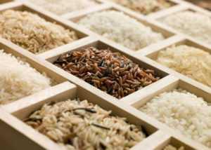 Рис при диабете - белый, бурый, коричневый, красный, пропаренный, дикий