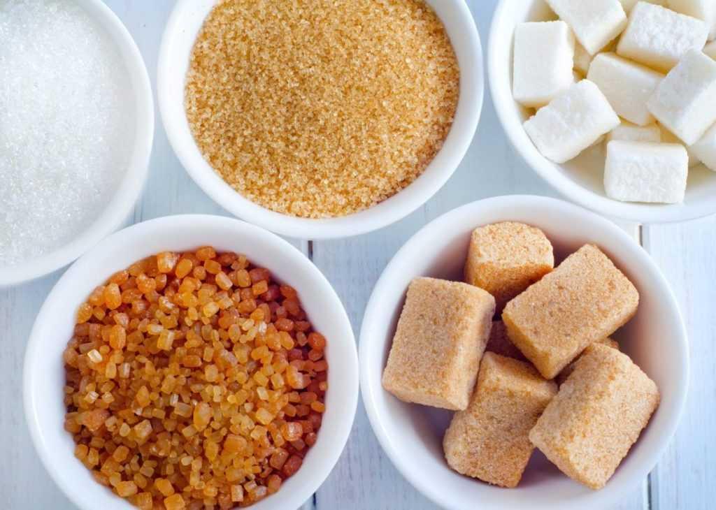 разновидности сахара