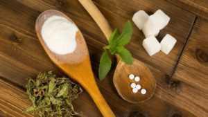 Разрешенные сахарозаменители при диабете