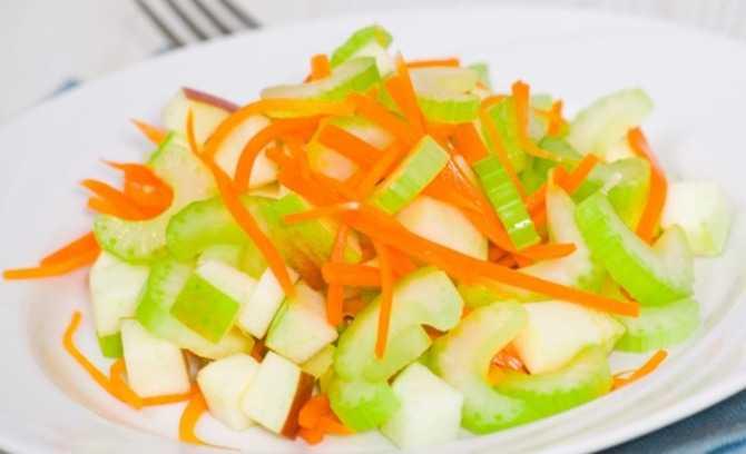 Салат из седьдерея