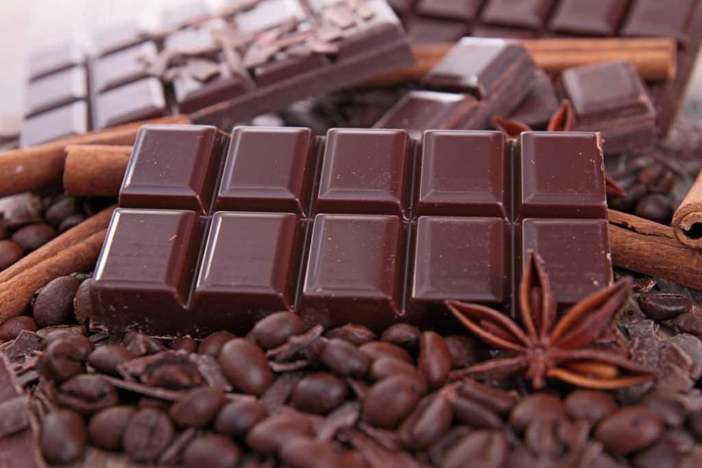 ГИ шоколада