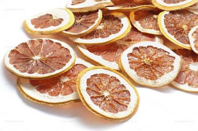 Сушеный грейпфрут