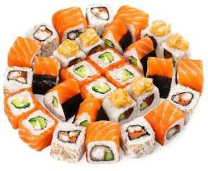 Суши и роллы при диабете