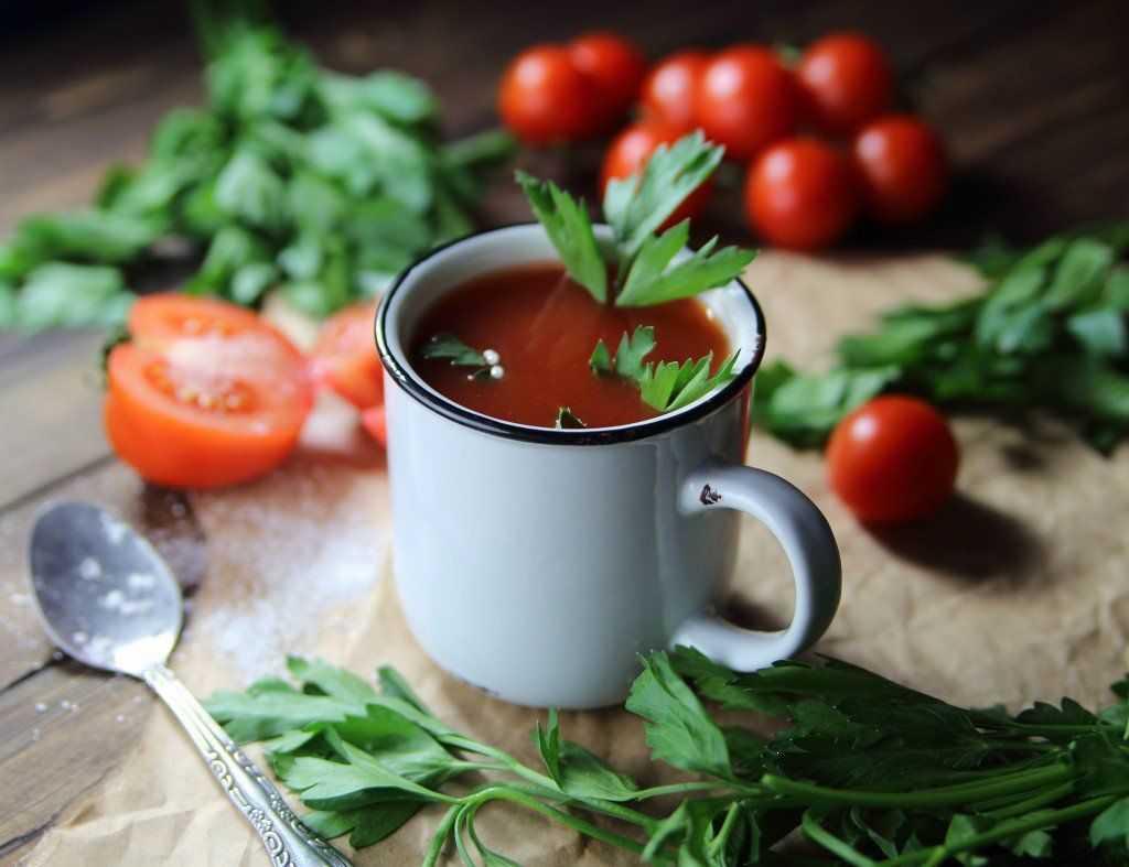 полезность томатного сока