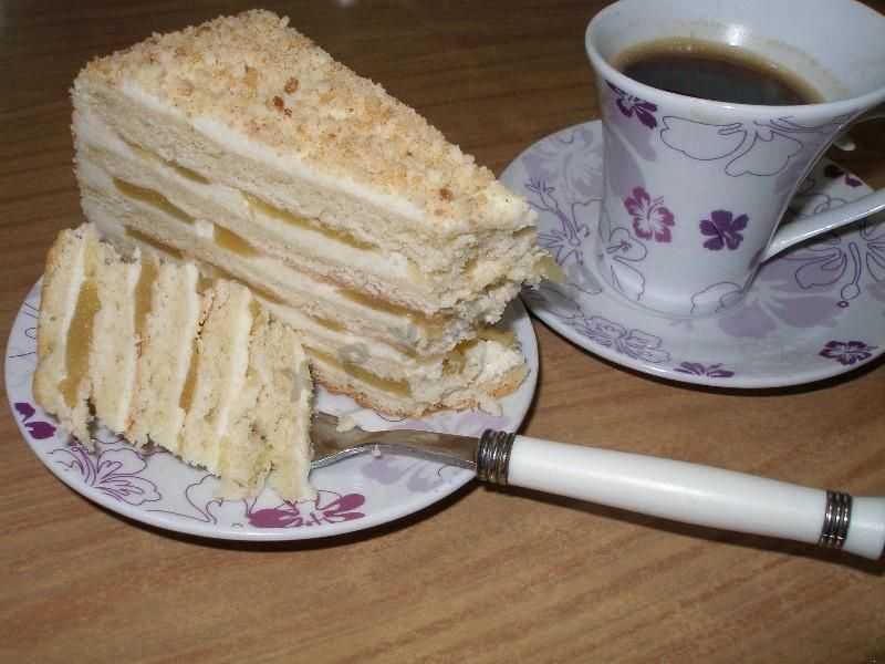 Французский торт на основе яблок
