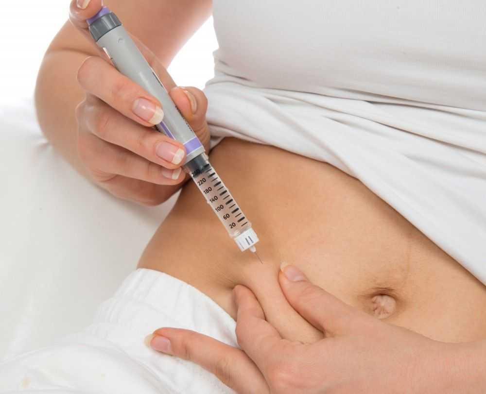 правила введения инсулина